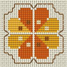 ll ricamo a punto croce consiste nel trasferire un disegno da uno schema stampato alla stoffa la ricamatrice utilizza del filato da ricamo per fare delle