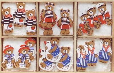 Orsetti in legno da Marianne Hobby - Decorazioni - Creare - Casa ...