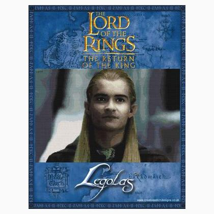 Il Signore Degli Anelli Legolas Da Creative Stitch Designs Schemi