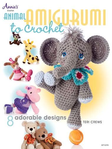 Ippopotamo Amigurumi Crochet : Animal Amigurumi to Crochet da Annies Crafts - Libri ...