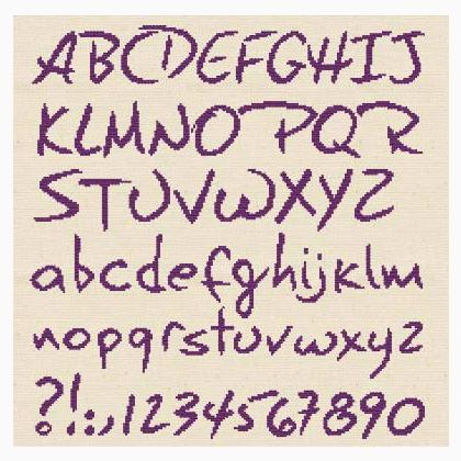 Alfabeto Completo Da Lilipoints Schemi Punto Croce Schemi Punto