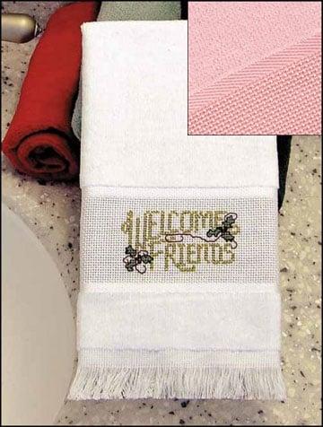 Asciugamani Ospiti Rosa Da Charles Craft Per Il Bagno