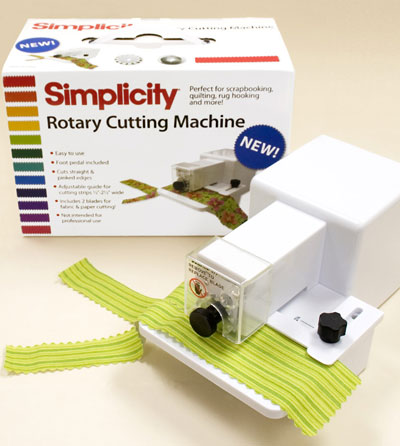 simplicity deluxe rotary cutting embossing machine