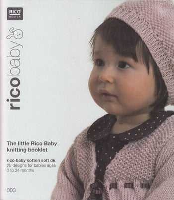 The little Rico Baby knitting booklet