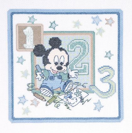 Disney Baby Topolino Disegna Da Dmc Disney Kit Punto Croce Kit