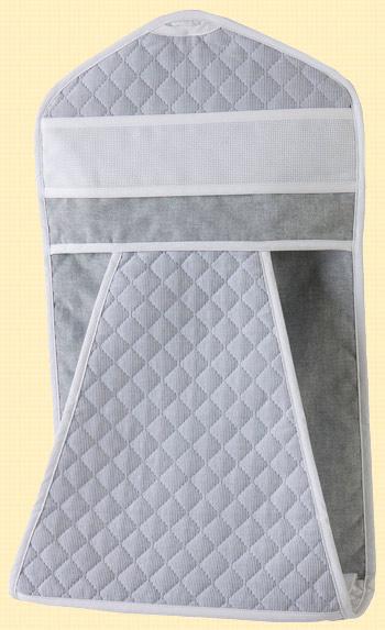 Baby chambray porta pannolini grigio da dmc per i - Porta pannolini ...