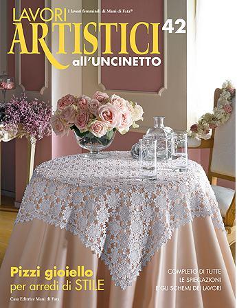 Lavori Antichi All Uncinetto.Lavori Artistici All Uncinetto 42