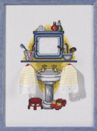 Sala da bagno - Wash da Permin of Copenhagen - Piccoli Quadri - Kit ...