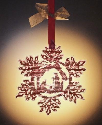 Christmas In A Snowflake Da Cerpica Schemi Punto Croce Schemi