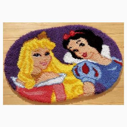Tappeto intrecciato - Principesse da Vervaco - Disney by ...