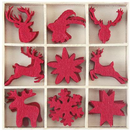 Decorazioni in feltro natalizie da marianne hobby - Decorazioni natalizie in feltro ...