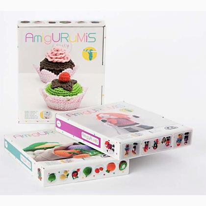 Kit Per Amigurumi : Kit Amigurumi - I Pasticcini da DMC - - - Casa Cenina