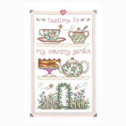 Country Tea Time Da Imaginating Schemi Punto Croce Schemi Punto