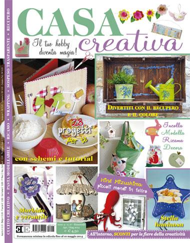 Casa creativa n 17 da editoria europea libri riviste for Riviste per la casa