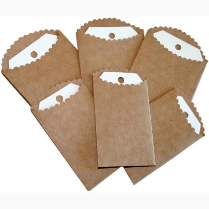 abbastanza Mini bustine di carta con etichette da Melissa Frances  GV29