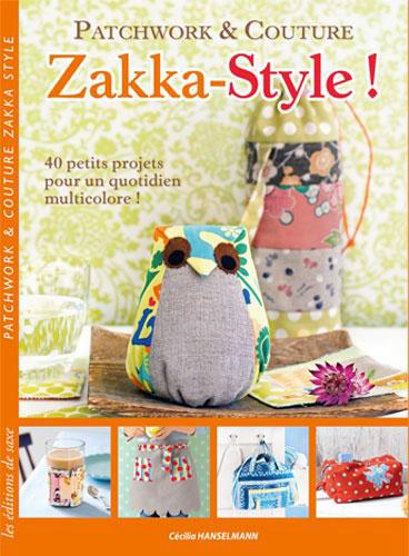 Zakka style patchwork couture da les dition de saxe - Edition de saxe ...