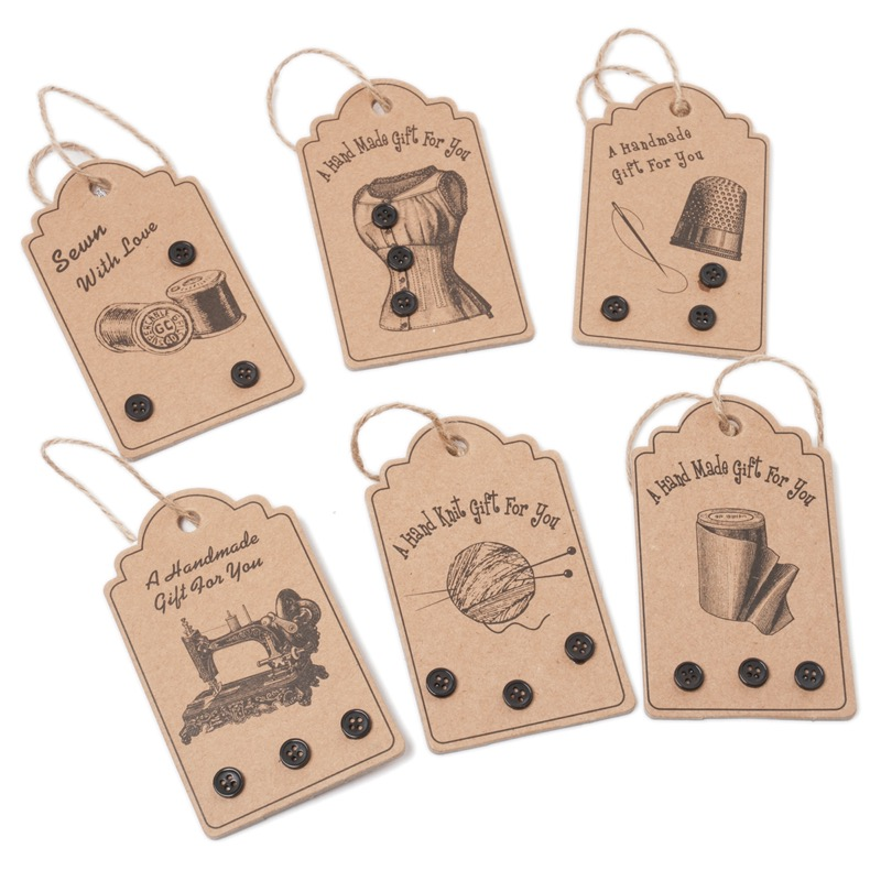 Preferenza Etichetta Regalo - A Handmade Gift For You - Macchina da cucire da  UC52