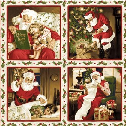 Santa Claus Pictures Natural Da Maywood Studio Cotoni