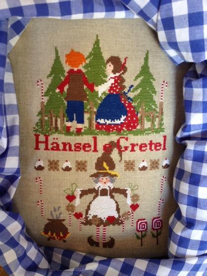 Hansel E Gretel Da Lilli Violette Schemi Punto Croce Schemi