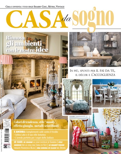 Casa da sogno n 63 da editoria europea libri riviste for Riviste di case