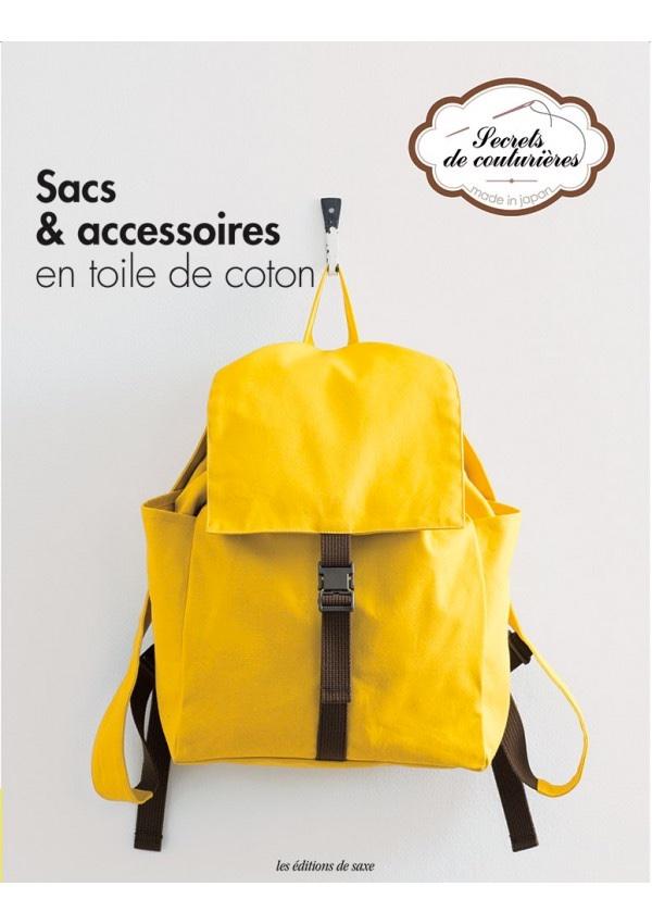 sacs accessoires en toile de coton da les dition de saxe libri riviste libri riviste. Black Bedroom Furniture Sets. Home Design Ideas
