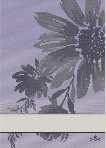 Asciugapiatti: Flowers Lilla da DMC - Per la cucina - Ricamabili ...