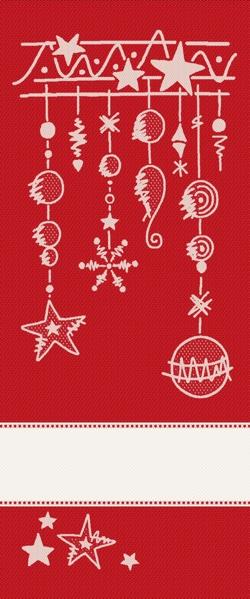 Pannello decorativo natalia rosso lurex da tessitura - Pannello decorativo ...