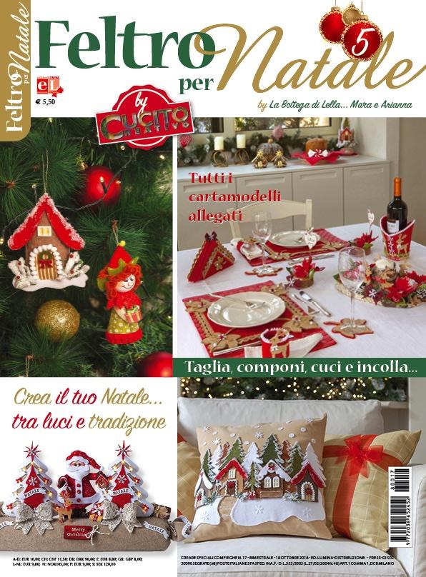 Cartamodelli Decorazioni Natalizie In Feltro.Feltro Per Natale 5 By La Bottega Di Lella Mara E Arianna Da