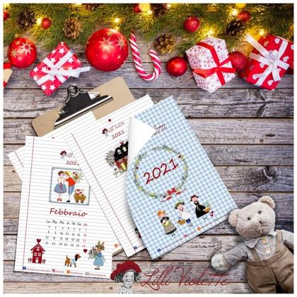 Natale 2021 Calendario.Calendario 2021 Italiano Da Lilli Violette Libri Riviste Libri Riviste Casa Cenina