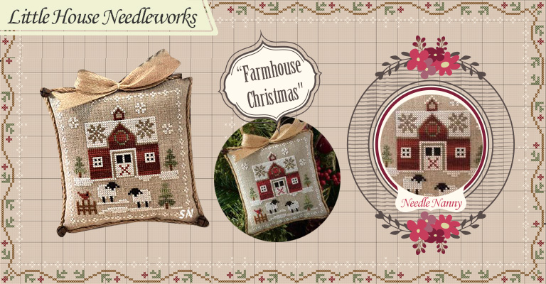 Farmhouse Christmas: l'irresistibile delicatezza di Little House Needlework!