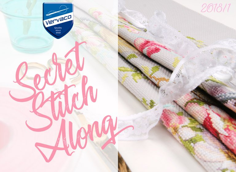Vervaco Secret Stitch Along 2018: torna il social stitching firmato!