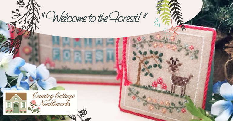 Sette mesi con Country Cottage Needleworks