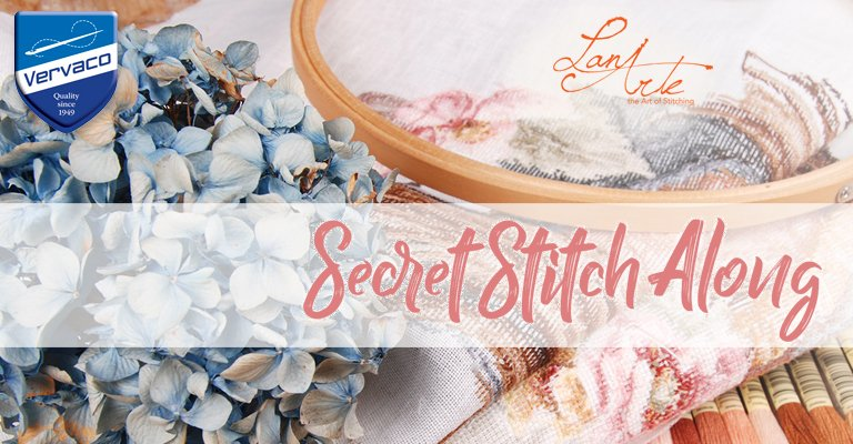 Lanarte Secret Stitch Along 2017: si fa il bis!