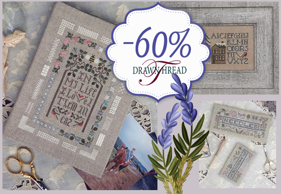 Drawn Thread la raffinatezza scontata del 60%